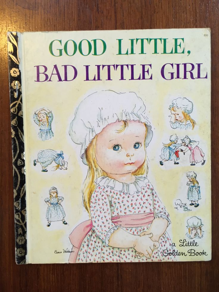 LGB  Good girl, Bad Little Girl Rare Eloise Wilkin First Edition thus Sydney by Esther Wilkin Illustrated Eloise Wilkin Edition 320 1965 by weseatree on Etsy