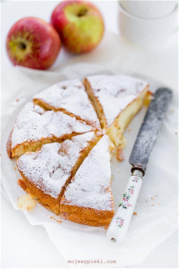Francuskie ciasto z jabłkami