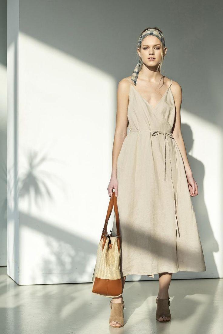 11++ Beige linen maxi dress inspirations