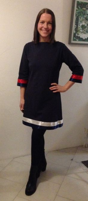 Marika's Tommy Hilfiger-inspired Coco dress - love this!