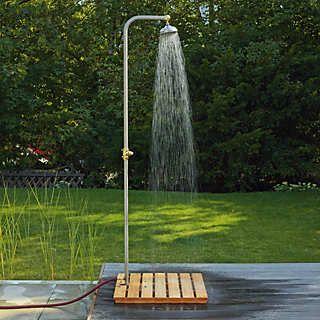 Gartendusche Edelstahl | Gartenmöbel ähnliche tolle Projekte und Ideen wie im Bild vorgestellt findest du auch in unserem Magazin . Wir freuen uns auf deinen Besuch. Liebe Grü�