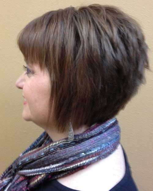 Superb 1000 Ideas About Layered Inverted Bob On Pinterest Bobs Hairstyle Inspiration Daily Dogsangcom