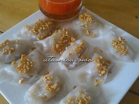Resep Choipan / Chiongfan / kue pontianak favorit. Makan ini bisa 10 biji sendiri, tapi gk papa lah ya kan bukan gorengan 😁😁