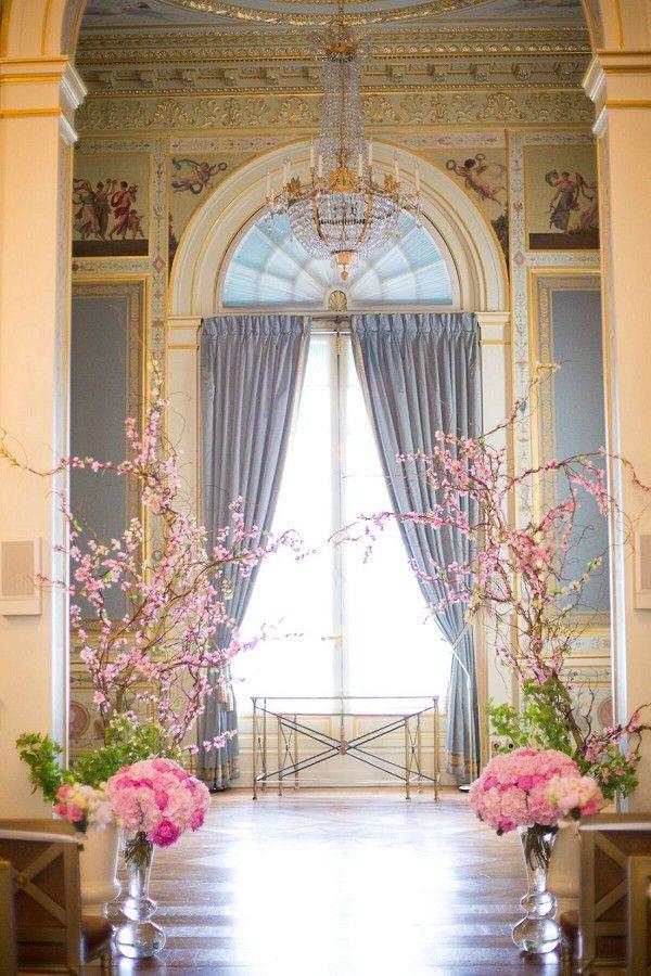 Romantic Destination Shangri La Paris Wedding | Image by Le secret d'Audrey