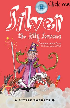 Click the button to order a copy of Silver the Silly Sorcerer. For more junior fiction visit www.newfrontier.com.au #books #fiction #kids #reading #wizard