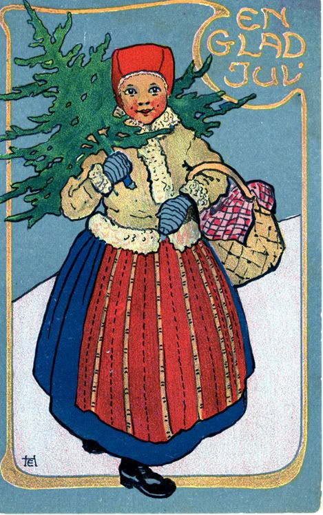 Julkort. Sweden