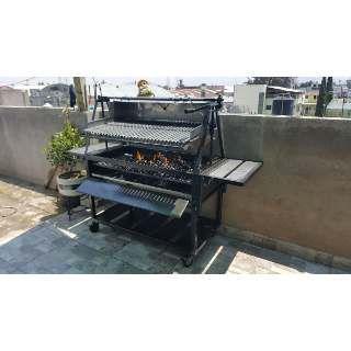 Azador Parrilla Argentina Al Carbon 80 ×40 Desmontable - $ 3,100.00