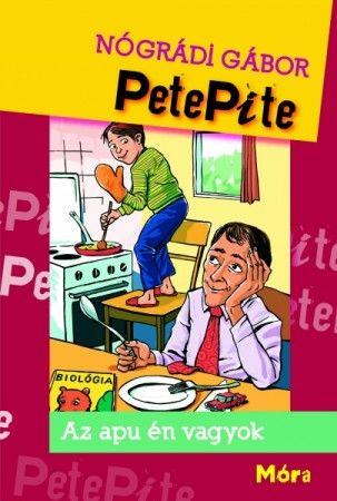 Könyv: Petepite  író: Nógrádi Gábor     Mi lenne, ha helyett cserélnél az apukáddal. Egyik reggel, az Ő hangjával, az ő testében, a Te ágyadban ébrednél? Ő meg a Te testetedben a Te hangoddal a Te ágyadban. Aztán Ő menne iskolába, Te meg mennél dolgozni. Kalandos lenne ugye? Erről szól a PetePite. Olvasd el, kalandozz, érezd magad jól az olvasás közben.    http://naplokonyv.hu/petepite  www.naplokonyv.hu