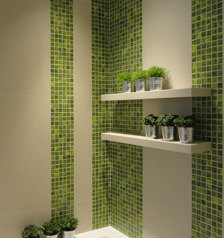 GLOSSY Series  _ porcelain stoneware mosaic tiles from MOSAICS Collection  by  KERION Ceramics