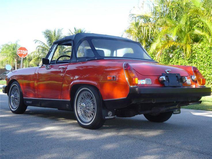 1975 MG 1500 MIDGET CONVERTIBLE