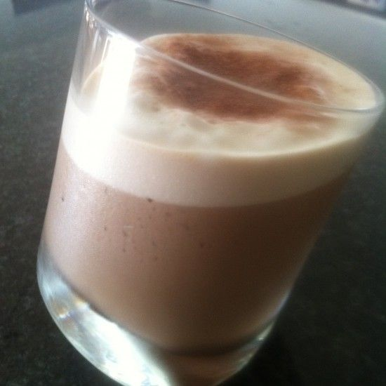 Your Inspiration at Home Mocha Frappe. #YIAH #frappe #hotchocolate