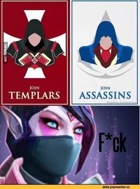 Templar Assassin,Lanaya, Templar Assassin,Dota,фэндомы,Dota Other,Assassin's Creed,Игры