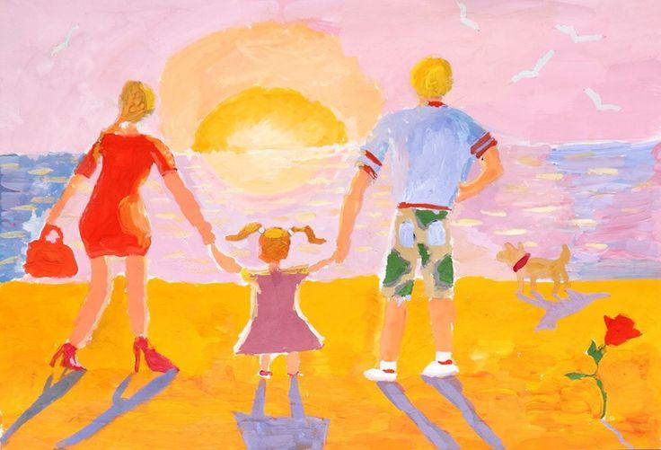 Картинки которые можно нарисовать для семьи лето отзывы