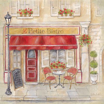 Paris Cafe IV  Cynthia Coulter