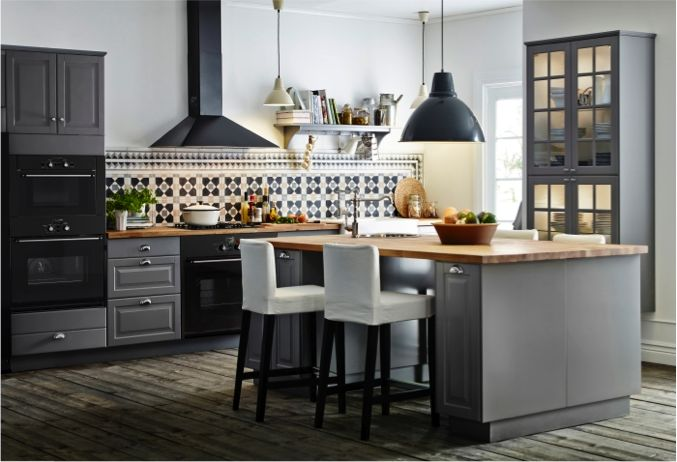 Get ready for tasty meals and meaningful moments in our new grey LIDINGÖ kitchen