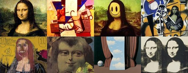 Λίγα έργα τέχνης μπορούν να καυχηθούν πως είναι ευρέως αναγνωρίσιμα, ακόμη και από όσους δεν έχουν καμία επαφή με τον καλλιτεχνικό χώρο. Ακόμη λιγότερα έχουν εμπνεύσει θαυμασμό, μίσος, ίντριγκες, συνωμοσίες, αναπαραγωγές και βανδαλισμούς. Τέλος, ελάχιστα έχουν χρησιμοποιηθεί σε τέτοιο βαθμό στην καταναλωτική μας κοινωνία, ώστε να τα μετατρέπουμε χωρίς τύψεις σε απλά σκουπίδια. Η Μόνα Λίζα του Λεονάρντο ντα Βίντσι, στα χέρια των Ντισάν, Γουόρχολ, Banksy, Νταλί και πολλών πολλών άλλων.