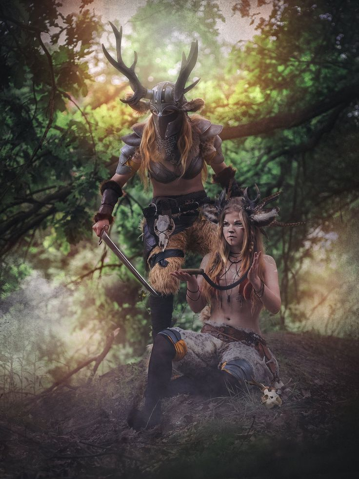 Battle faun's cosplay. Other character ;)  Cosplay: https://www.facebook.com/hydencosplay/  Photo: https://www.facebook.com/NinaJaniakFotograf/?fref=ts