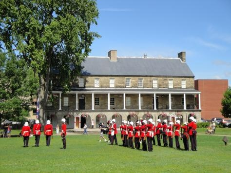 York Sunbury Changing of the Guards in Fredericton, New Brunswick