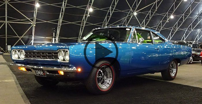 1968 Plymouth Road Runner in Blue Paint & 426 Hemi Engine - https://www.musclecarfan.com/1968-plymouth-road-runner-in-blue-paint-426-hemi-engine/
