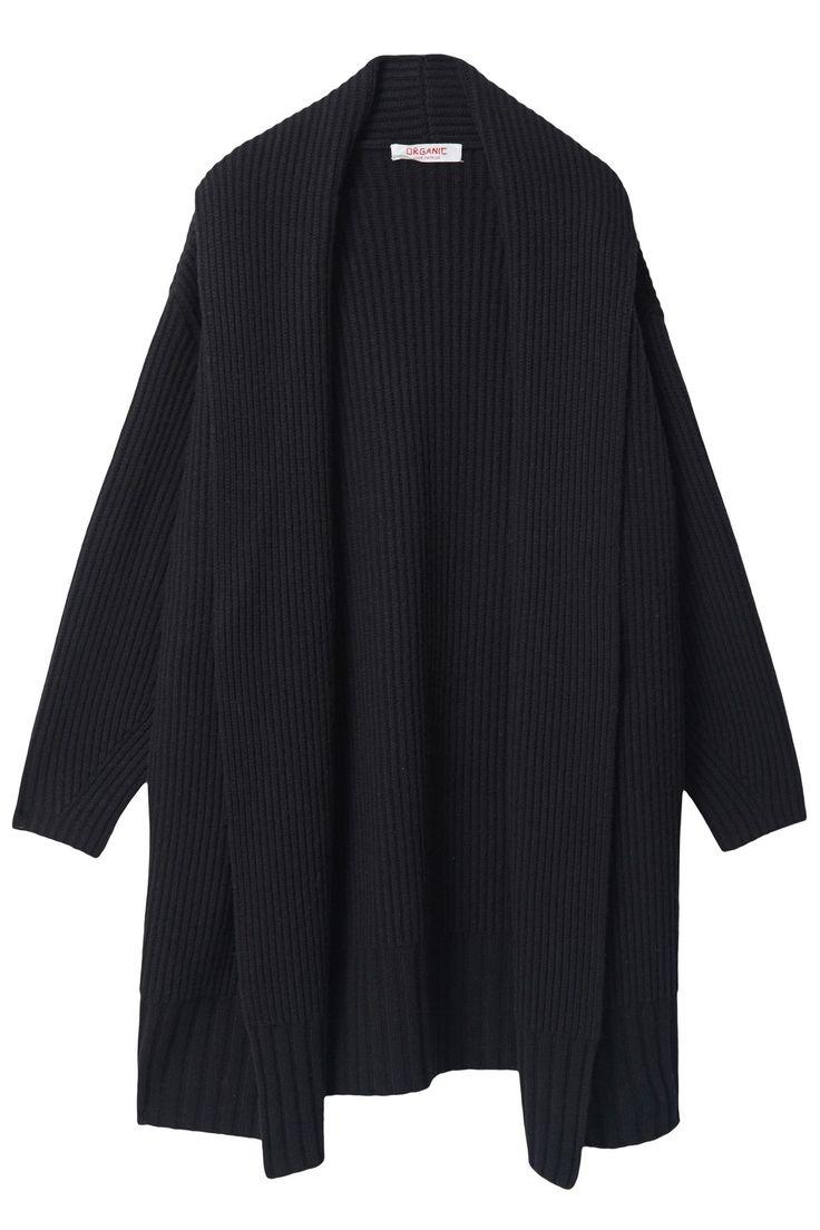 Open Rib Knit Coat