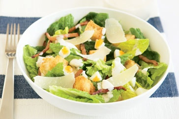 Caesar Salad  Please find the recipe with this following link : http://www.taste.com.au/recipes/20812/caesar+salad: Favorite Healthy, Caesar Salad, Salad Recipes, Dinner Recipes, Traditional Caesar, Healthier Alternatives, Main Image, Healthy Recipes, Salad Main