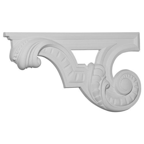 "12 3/8""W x 6 5/8""H x 3/4""D Scroll Stair Bracket, Left by Wholesale Millwork. $40.29. 12 3/8""W x 6 5/8""H x 3/4""D Scroll Stair Bracket, Left"