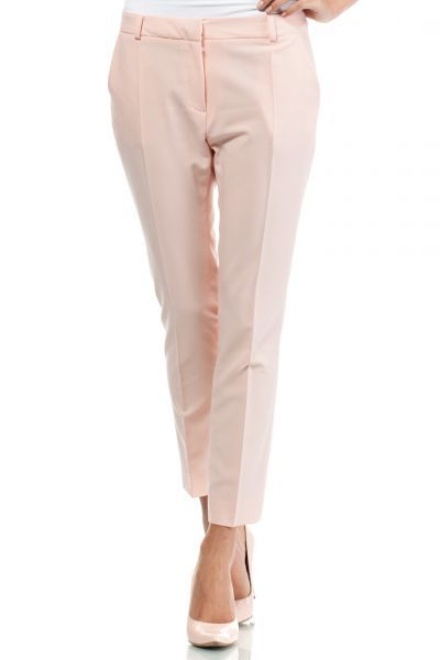 Elegant pants in shades of powder pink