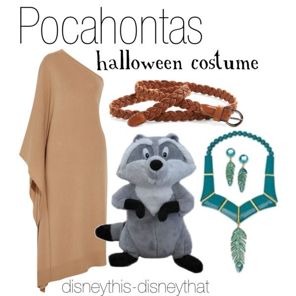 """Pocahontas Halloween Costume"" by disneythis-disneythat on Polyvore"