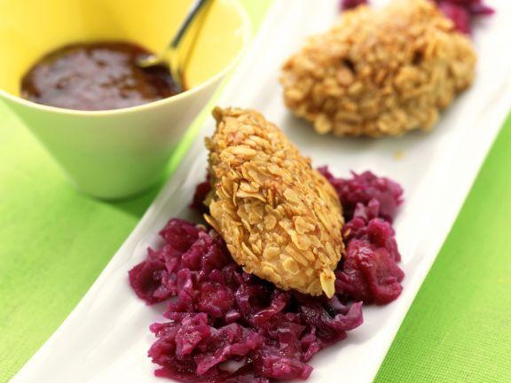 Knuspriges Entenbrustfilet mit Rotkohl ist ein Rezept mit frischen Zutaten aus der Kategorie Ente. Probieren Sie dieses und weitere Rezepte von EAT SMARTER!