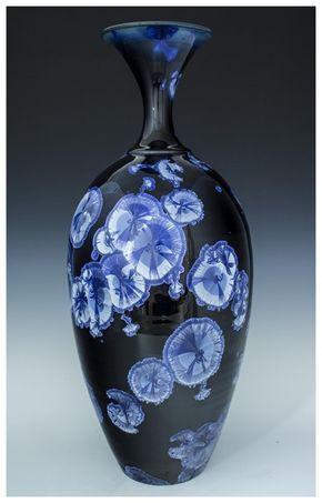 37 Best Crystalline Glazed Pottery Images On Pinterest
