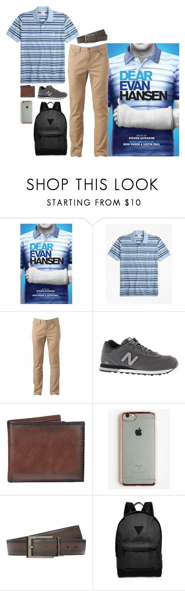 """Dear Evan Hansen"" by abbysm17es ❤ liked on Polyvore featuring Hansen, Brooks Brothers, Urban Pipeline, New Balance, Croft & Barrow, GabbaGoods, Zegna, River Island, men's fashion and menswear"