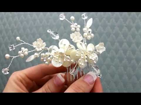 Sprays with Beads Flowers and....! Tutorial - YouTube