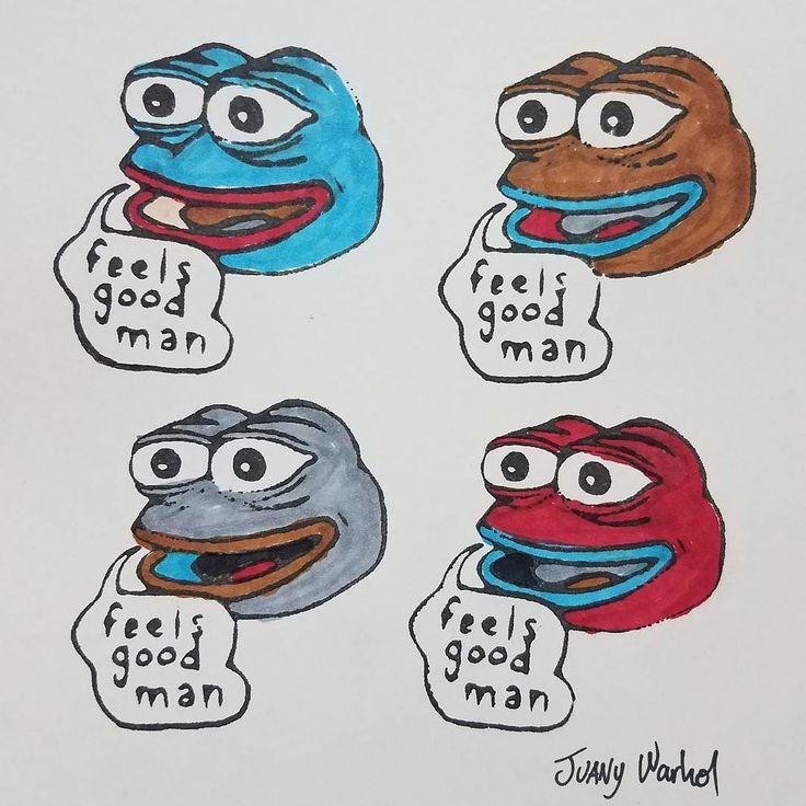 Join the Meme Pop Art movement today!... it feels good man.  #laser #engraving #lazer #LaserCutter #LaserEngraver #Engraver #LaserCutting #fabrication #fablab #engraved #etching #lasercut #FrickinLaserBeams #cnc #makermovement #makerrevolution #makers #makersgonnamake #DIY #projects #hobby #pepethefrog #pepe #meme #memes #feelsgoodman #popart #memepopart #andywarhol #