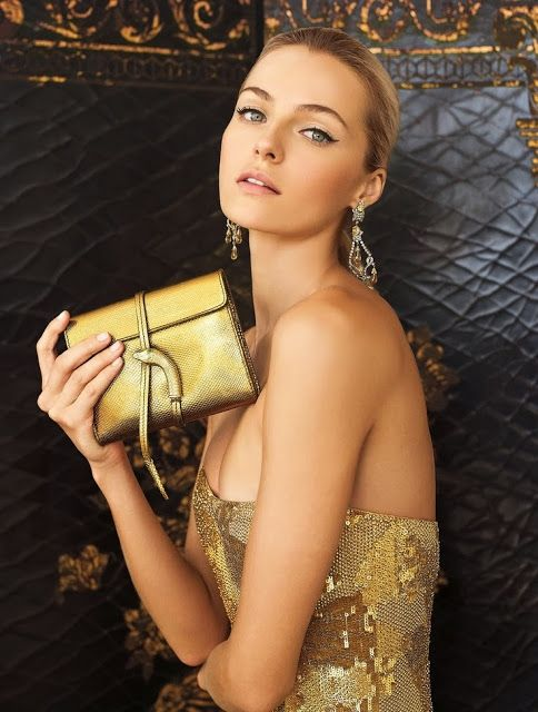 How to Chic: WEAR... GOLD! - SEQUIN GOLD DRESS: Valentina Zelyaeva, Ralph Lauren, Celebrities Style, Fall 2012, Ralphlauren, Gold, Valentinazelyaeva, Lauren Fall, Collection Fall