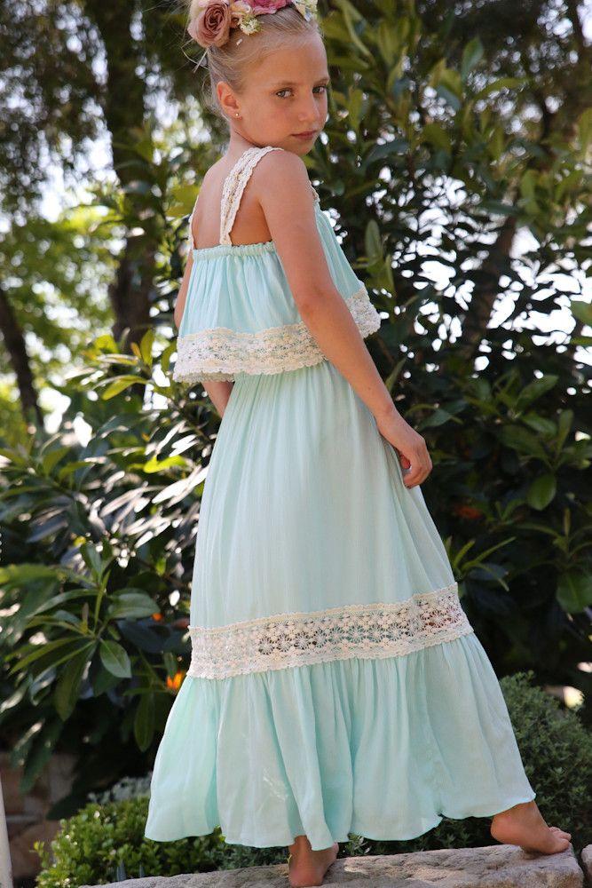Torquoise Maxi Dress from Tea Princess