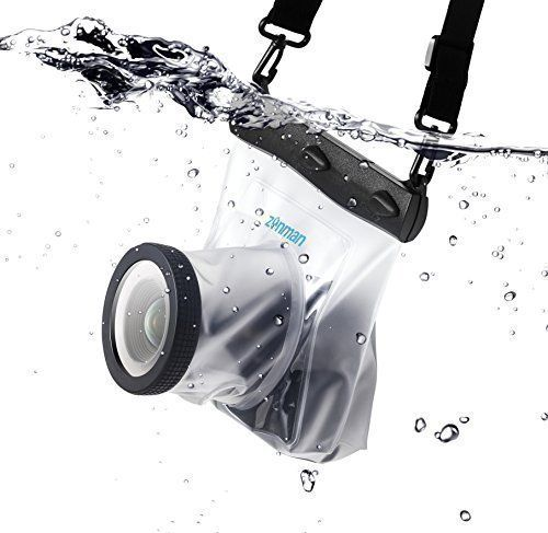 Zonman® DSLR Camera Univeral Waterproof Underwater Housing Case Pouch Dry Bag for Canon Nikon Sony Pentax (Transparent) zonman http://www.amazon.com/dp/B00Y9WTORA/ref=cm_sw_r_pi_dp_VtQdxb1Y0ZQPG
