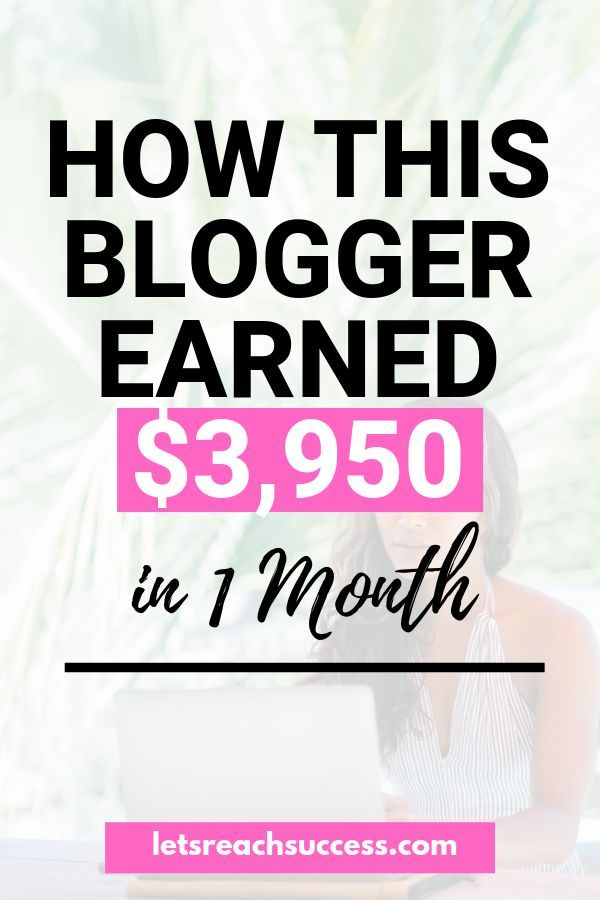 How I Made $3,950 in May 2018 Blogging [Monthly Income Report] – Lidiya | Let's Reach Success | Start a Side Hustle, Make Money Blogging & Be Your Own Boss