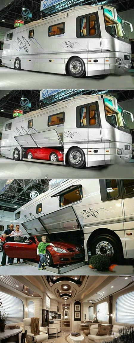 Imagine travelling in this badboy!
