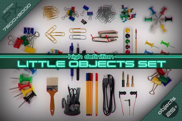 Little Objects [HD set] by stallfish's art store on @creativemarket