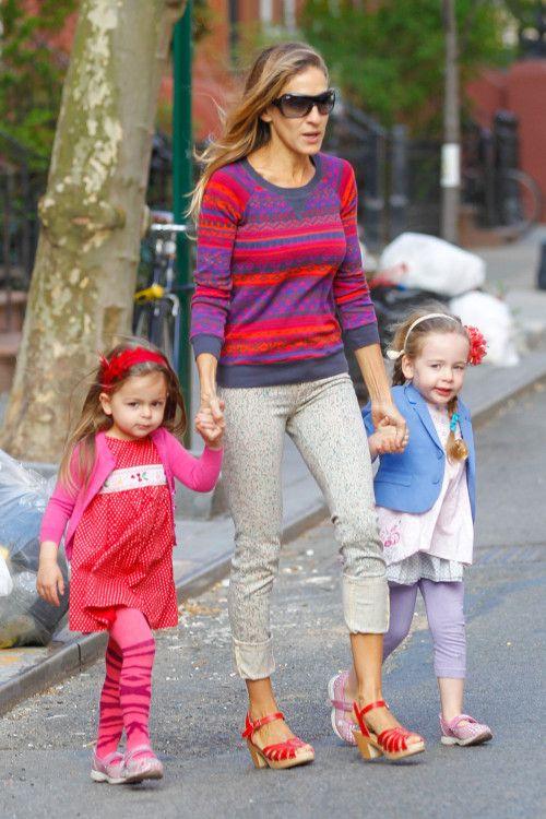 Sarah Jessica Parker & Her Little Ladies