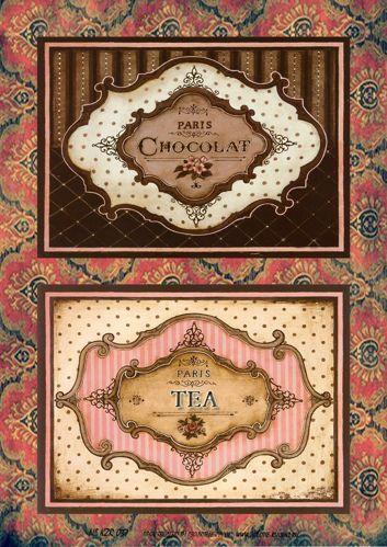 Картинки по запросу декупаж шоколад