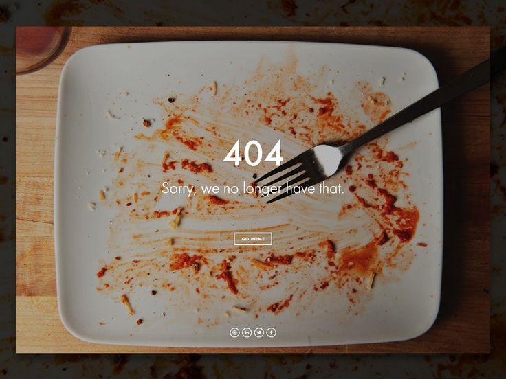 Personal Site: 404 Page / Hugo França