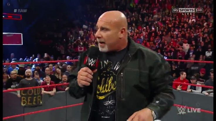 Goldberg will be back in 2017 – Royal Rumble