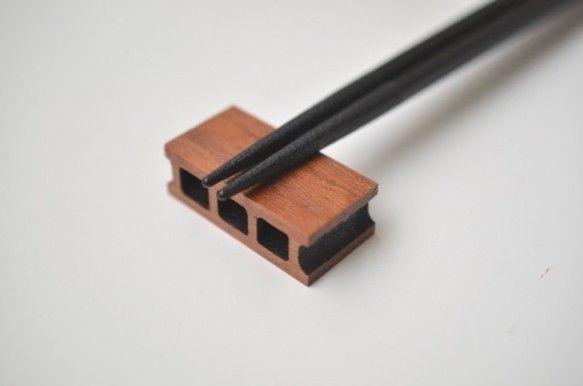 木製コンクリートブロック(1/10スケール)2pcs