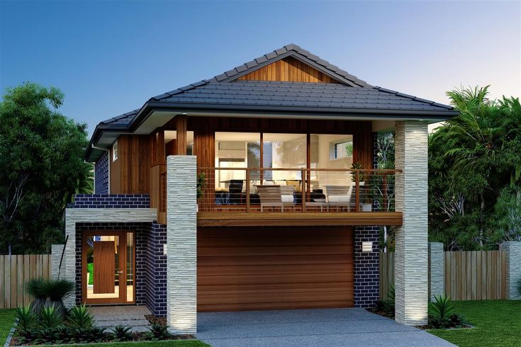 Looking for a spacious home to suit a narrow block this for Narrow block home designs sydney