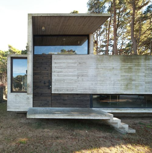 Pedrodo House BAK Architects cemento