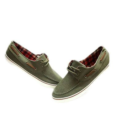 Dry Green Brown Shaded Casual Shoes For Man size 8
