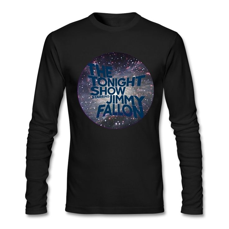 ==> [Free Shipping] Buy Best 100% Cotton Man Tees Clear The Tonight Show Teenage Full Sleeves T Shirts Long Sleeves Winter custom shirt design website Online with LOWEST Price | 32739227013