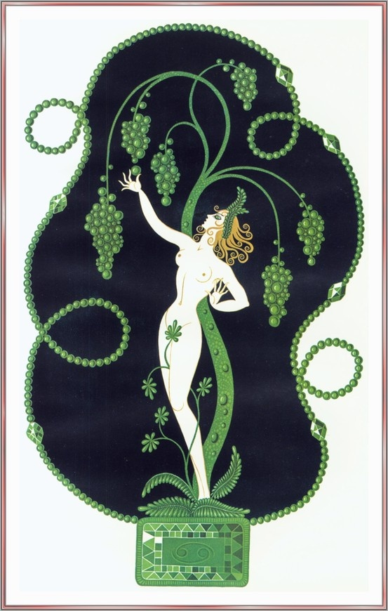 Emerald by erte