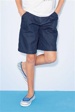lightweight denim culottes - Next £12